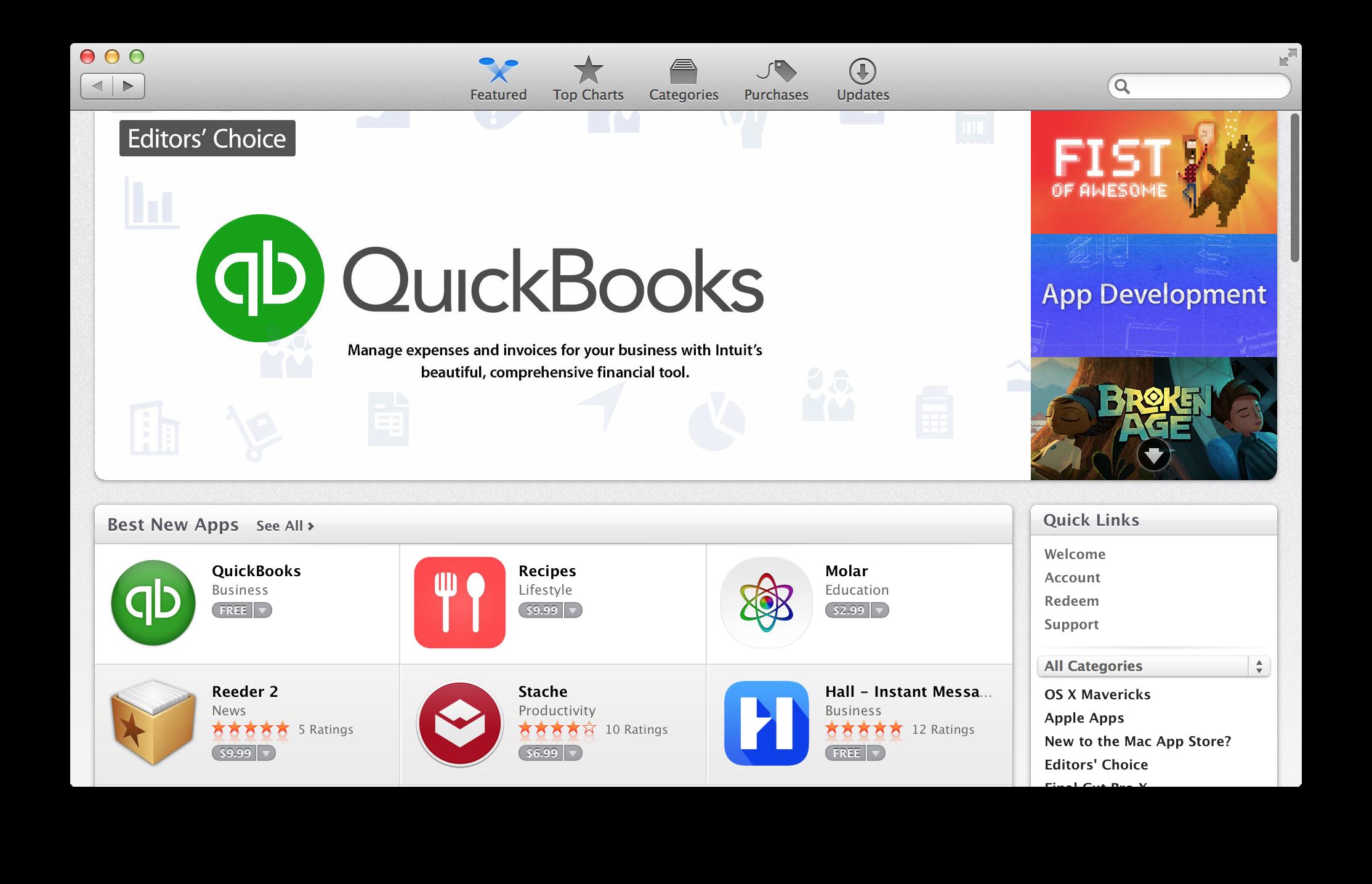 Tim Knapton - Case Study - QuickBooks Mac App